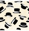 Set hat in vintage style vector