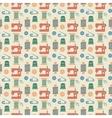 Needlework seamless pattern vector