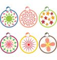 Xmas ornament vector