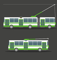Trolleybus vector