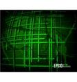 Green scratch grunge background vector
