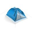 Tent blue vector