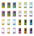 Blank smartphone vector