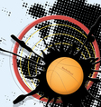 Abstract basketball ball vector