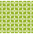 Seamless decorative floral pattern with clover vector