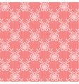 Pink floral lacy background vector