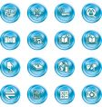 Internet or computing icon set vector
