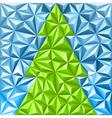 Christmas mosaic pattern vector