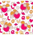 Cupids seamless pattern vector