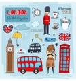 London landmarks vector