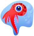 Octopus cartoon vector
