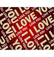 Love text wallpaper vector