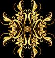 Gold texture vector