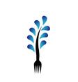 Logo for restaurant vector