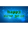 Happy new year holiday background vector