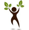 People tree for you design vector
