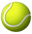 A tennis ball vector