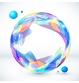 Abstract colorful sphere image vector