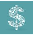 Business dollar vector