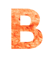 B land letter vector