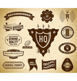 Vintage labels collection 14 vector