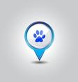 Pet shop pins vector