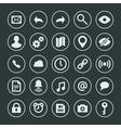Web site icons set design elements for design vector