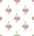 Background for ice cream dessert vector