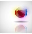 Sphere glass ball vector