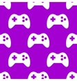 Gaming joystick web icon flat design seamless vector