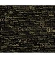 Casino typographic seamless vector