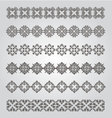 Vintage border design vector