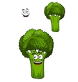 Farm fresh green broccoli vegetable vector