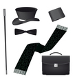 Accessories for the business gentleman vector