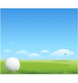 Golf background vector