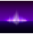 Abstract dark violet background with flame vector