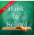 Back to school sale plus eps10 vector