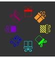 Rainbow presents vector