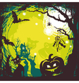 Abstract halloween background vector