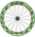 Front wheel vector