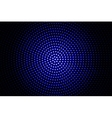 Blue glowing techno background vector