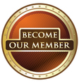 Become our member vector