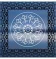Mandala sea background vector