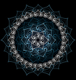 Lotus mandala vector