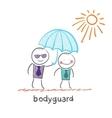 Bodyguard vector