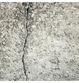 Concrete crack background texture vector