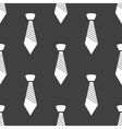 Hipster tie web icon flat design seamless gray vector