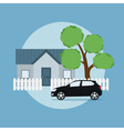 Home and car vector