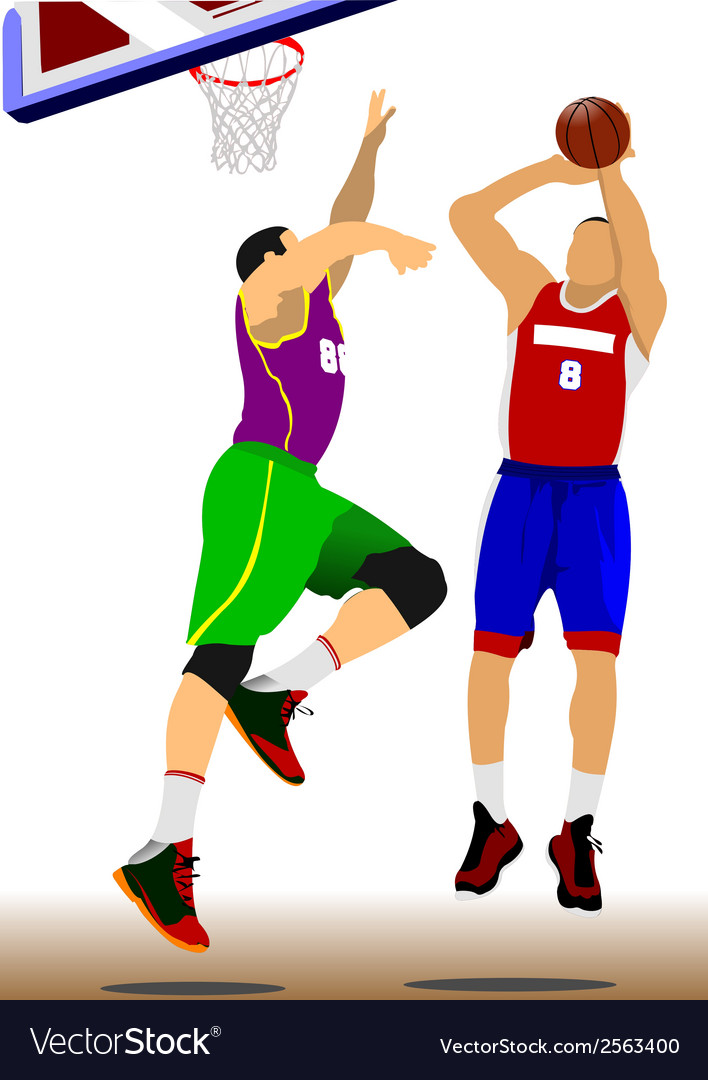 Al 1110 basketball 02 vector | Price: 1 Credit (USD $1)