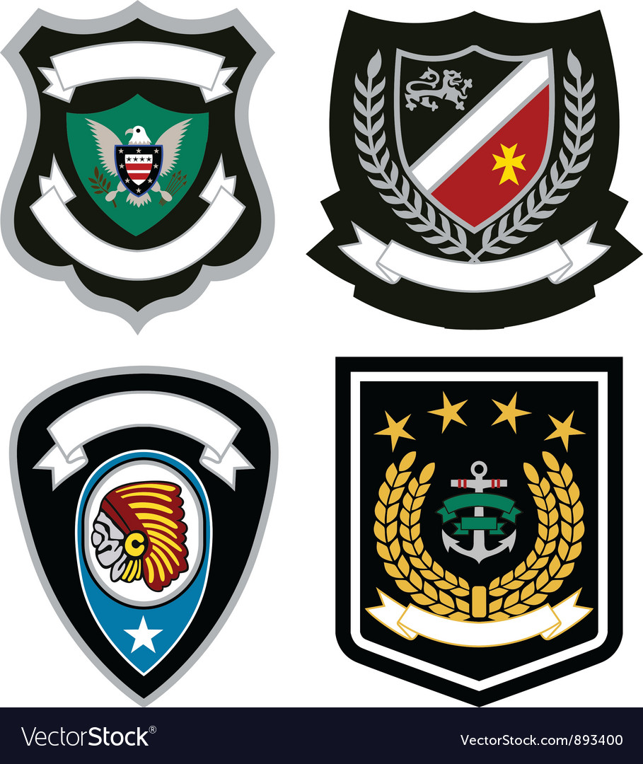 Emblem badge design vector | Price: 3 Credit (USD $3)